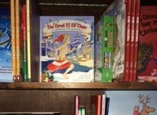cropped pj elf book on shelf at tattered cover (2)